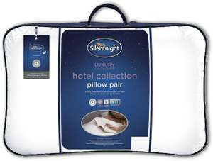 Silentnight Hotel Collection Pillow - Pack of 2 £12 @ Amazon (+£4.49 Non-prime)