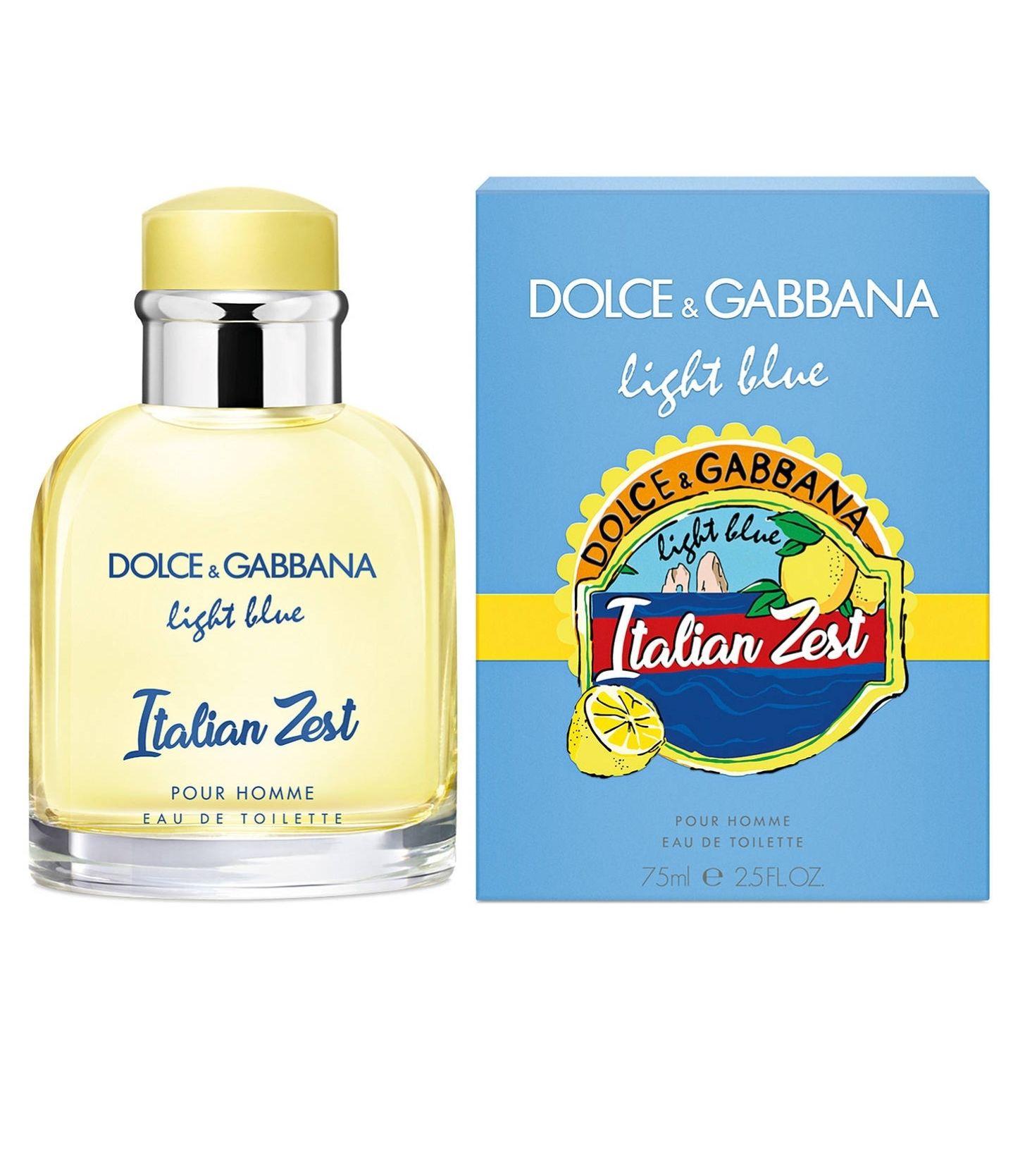 Dolce & Gabbana Light Blue Pour Homme Italian Zest Eau de Toilette Spray 75ml £22.35 using code @ Escentual Delivered