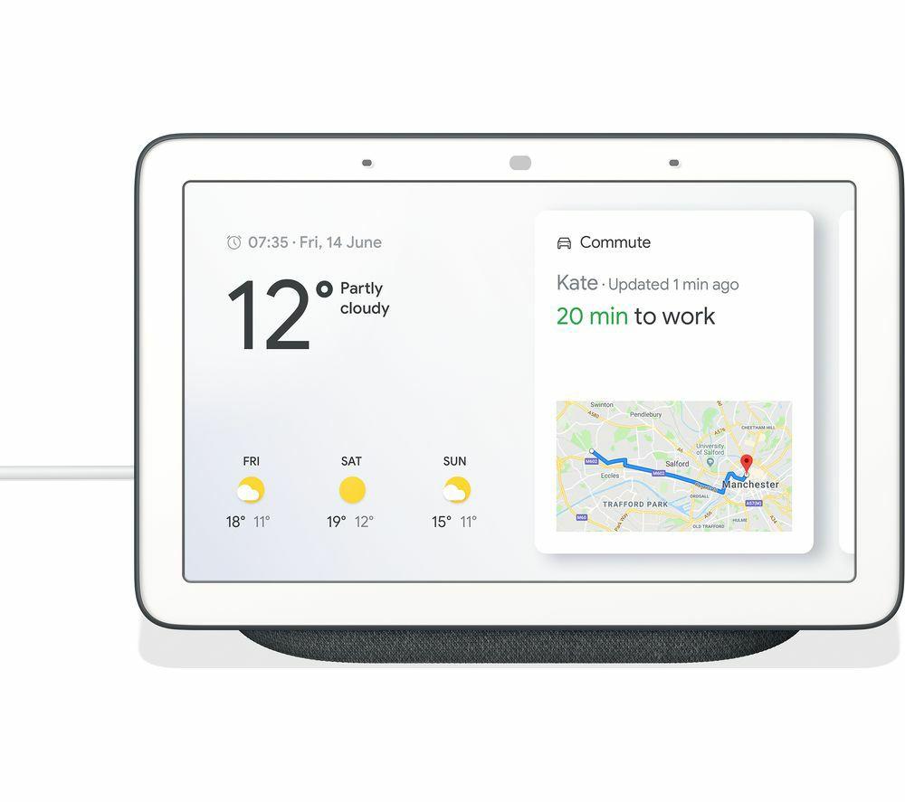 Google Nest Hub - Charcoal £59 @ Mr Central Heating