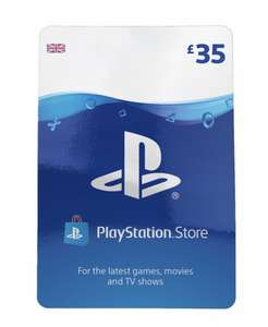 PlayStation Network Wallet Top Up £35 for £28.75 @ShopTo