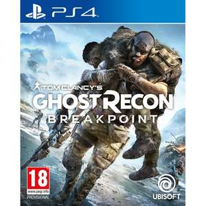 Tom Clancy's Ghost Recon Breakpoint (PS4) - £20.99 Delivered @ 365games