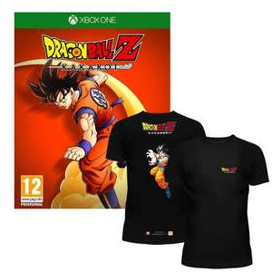Dragon Ball Z Kakarot (PS4 too) with free t-shirt at The Game Collection for £44.99