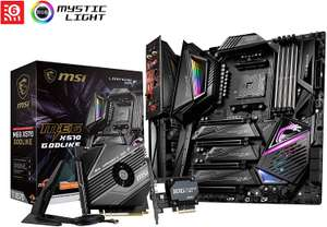 MSI X570 GODLIKE AM4 Motherboard + FREE Monster Hunter World: Iceborn Game code for £250 delivered @ Currys PC World (+3 year guarantee)
