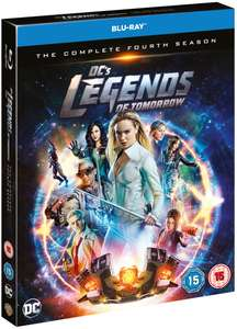 DC Legends of Tomorrow season 4 blu ray £16.79 delivered @ Base.com