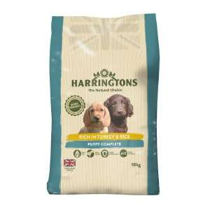 Harringtons Puppy Food with Turkey and Rice at Pets at Home for £15 (free C&C) 10KG
