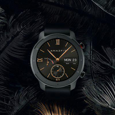 Amazfit GTR Lite 47mm Smartwatch 24 Days Battery Life 5ATM Waterproof Ceramics Bezel AMOLED Screen 8 at Gearbest £85.80