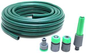 Hose with 4 Connectors - 15m - £4.00 @ Argos ( free click and collect ) More in the thread