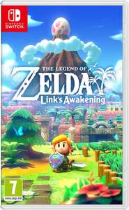 Legend of Zelda Link's Awakening (Nintendo Switch) £35.99 or with A2 size poster £36.01 @ Amazon