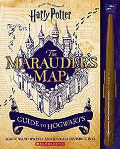 Harry Potter : The Marauder's Map guide to Hogwarts £6 @ Amazon (£4.49 Delivery non Prime)