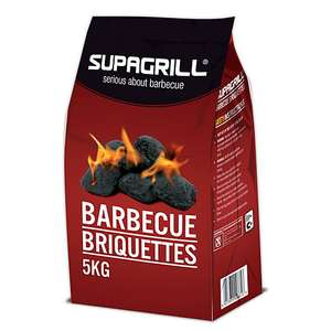 Supagrill Charcoal Briquettes £2.00 For A 5KG Bag Instore @ Wickes