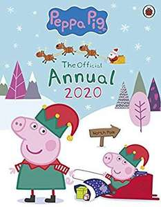 Peppa Pig 2020 Annual, reduced to 99p (+£2.99 NP)