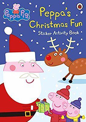Peppa Pig Christmas Activity Sticker Book 75p Amazon Prime (+£2.99 non Prime)
