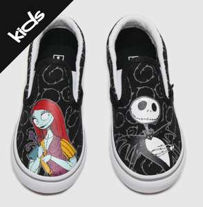 Kids Vans The Nightmare Before Christmas trainers starting at £19.99 toddlers/ £22.99 juniors @ Schuh Free C&C or £3 p&p