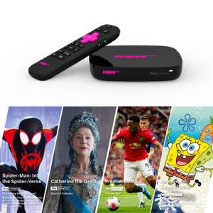 Now TV 4K box with 4 x Passes instore at B&M for £25