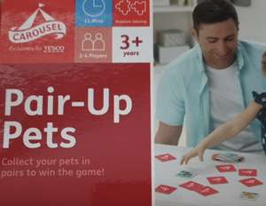 Carousel Pair up Pets instore at Tesco for 75p