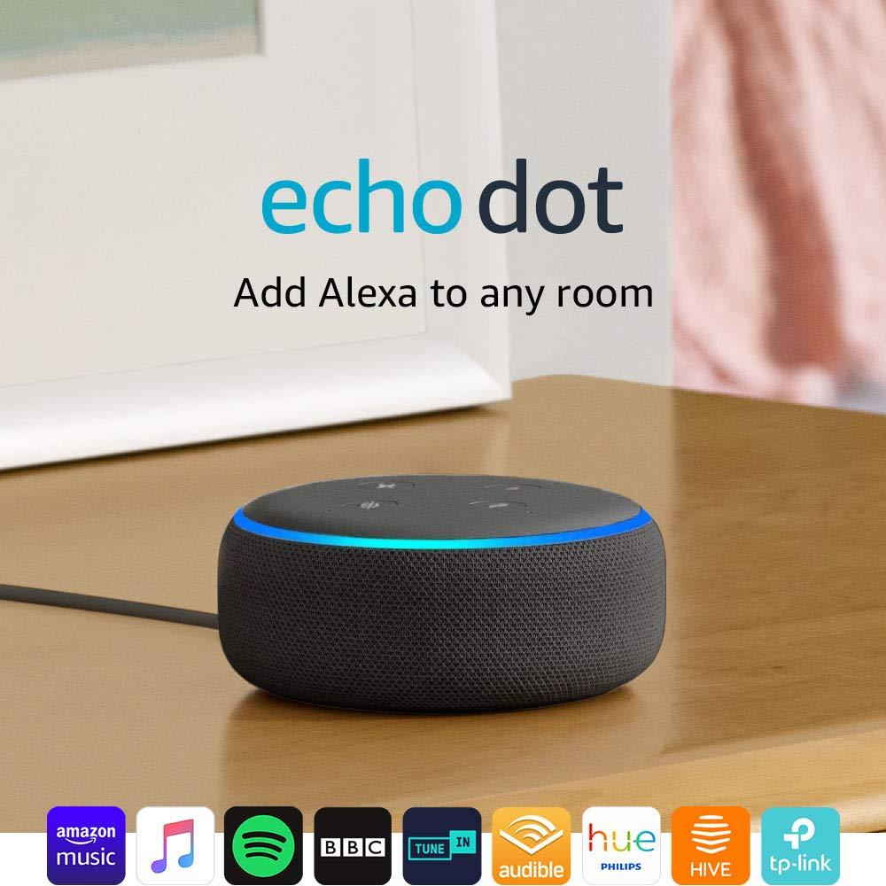 Echo Dot (3rd Gen) - Smart speaker with Alexa (All Colours) - £24.99 + 6 Months Spotify Premium @ Currys PC World