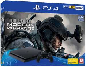 Sony PlayStation 4 Slim 500GB Call of Duty: Modern Warfare Bundle £198.99 / £202.48 delivered @ Ebuyer