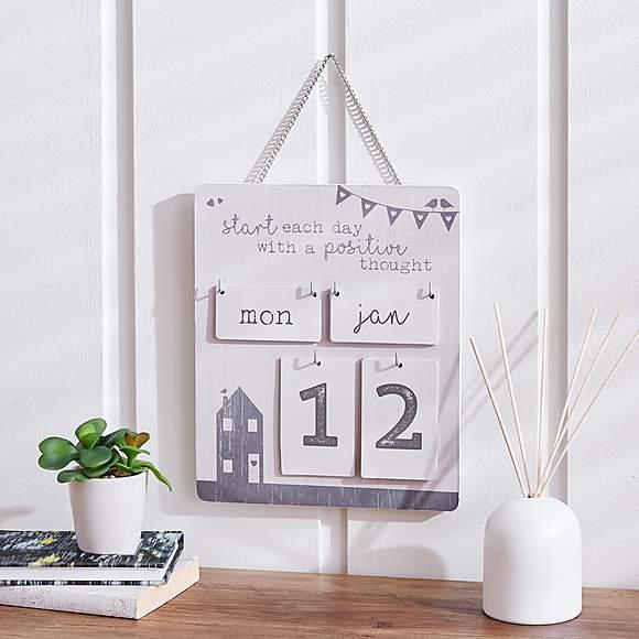 Wall Calendar £5 click and collect @ Dunelm