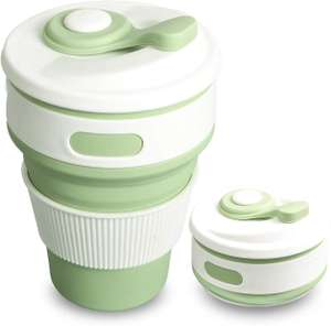 Collapsible Coffee Cup Folding Cup - £4.69 @ Amazon Prime Add-on Or Free Delivery in the UK on orders over £20.00 .