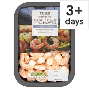 75p clearance prawns in Tesco from £3