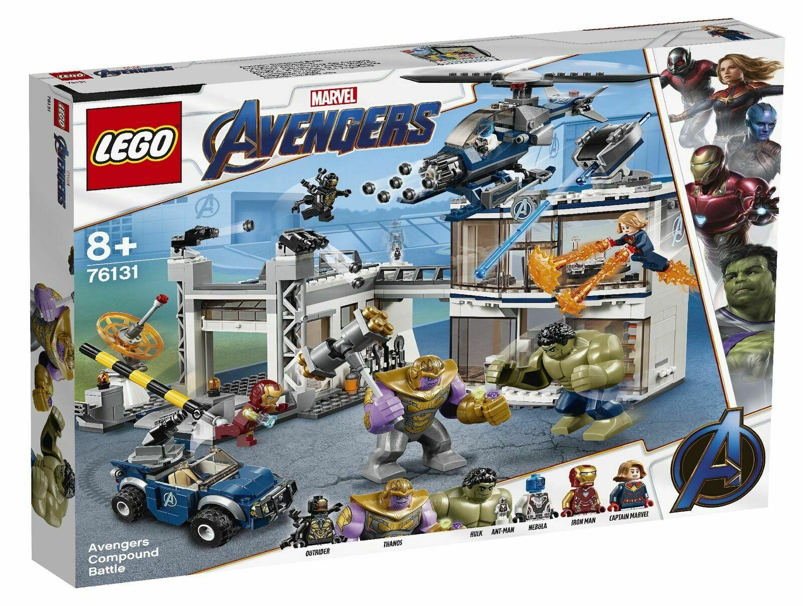 LEGO 76131 Avengers Compound Battle Superhero Playset - £58.50 instore @ Tesco Farnworth