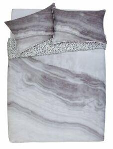 Argos Home Grey Marble 100% Cotton 200 Thread Reversible Bedding Set - Kingsize - £10.80 delivered @ Argos on eBay