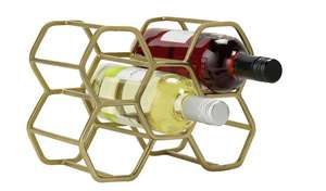 Argos - Hexagonal 6 Bottle Wine Rack - £9.99 + Free Click and Collect