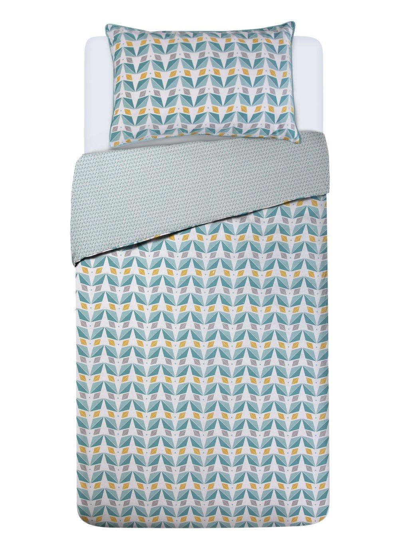 Argos Home Newstalgia Retro 180 Thread Reversible Bedding Set - Single - £5.40 Delivered @ Argos on eBay