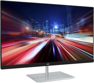 """JVCLT-24CM79W Full HD IPS 23.8"""" LED Monitor - White - £99 @ Currys PC World"""