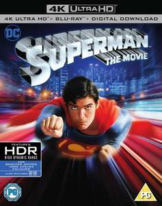 Superman the movie 4k UHD £9.99 + free Click and Collect @ HMV