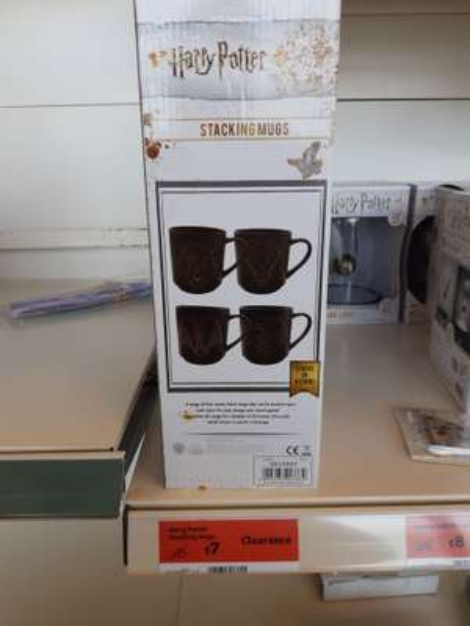 Harry potter stacking mugs - £7 Instore @ Sainsbury's (Welwyn)