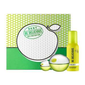 DKNY Be Delicious Gift Set 50ml worth £76 + Free Tote Bag + Pin Gift - £33.20 Free Delivery @ Fragrance Direct
