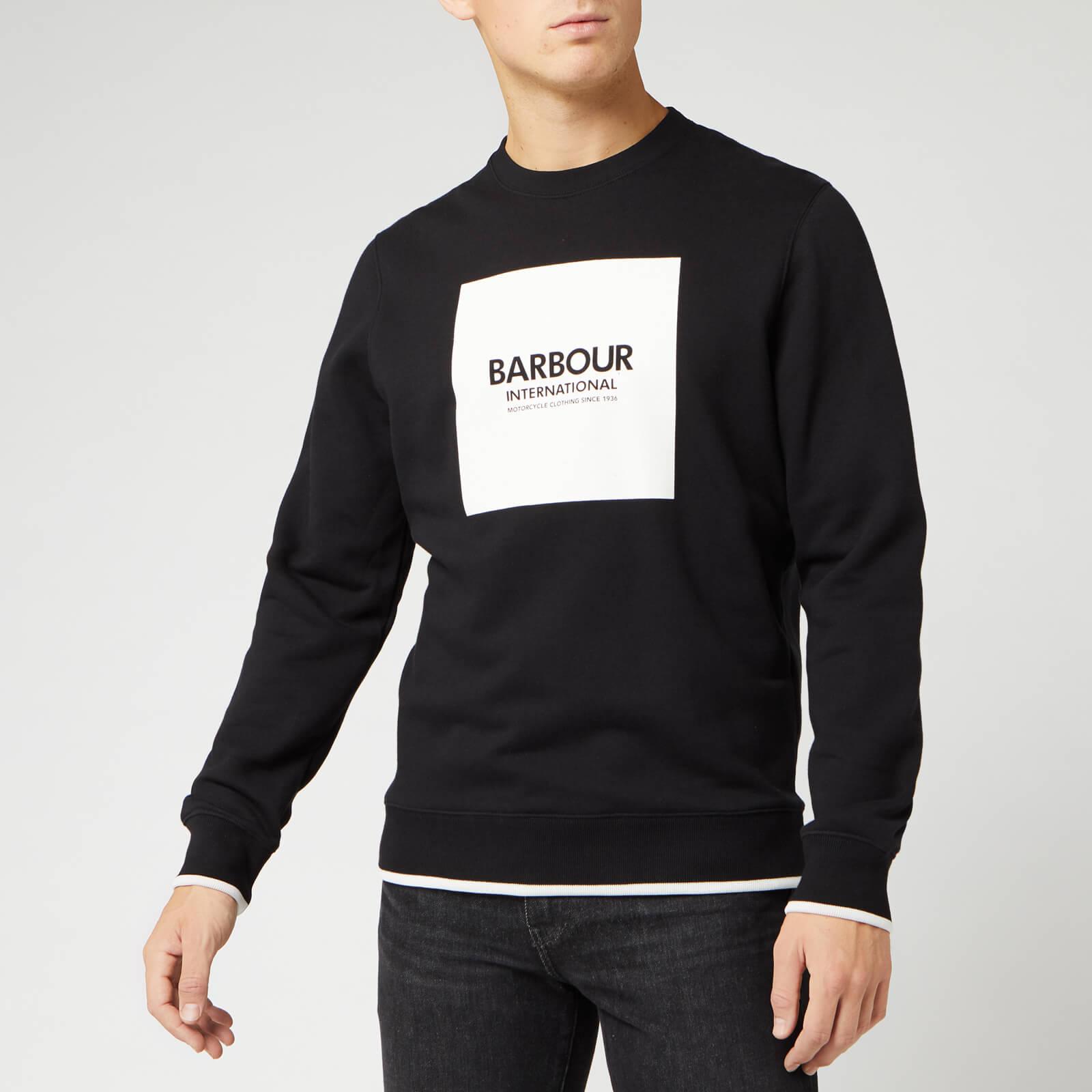 The Hut - Barbour International Crew Sweatshirt - Large - £23