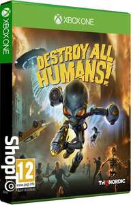 Destroy All Humans! Xbox One and PS4 - £29.85 @ ShopTo