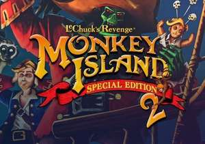 Monkey Island 2 Special Edition: LeChuck's Revenge (Steam PC) 84p @ Gamivo