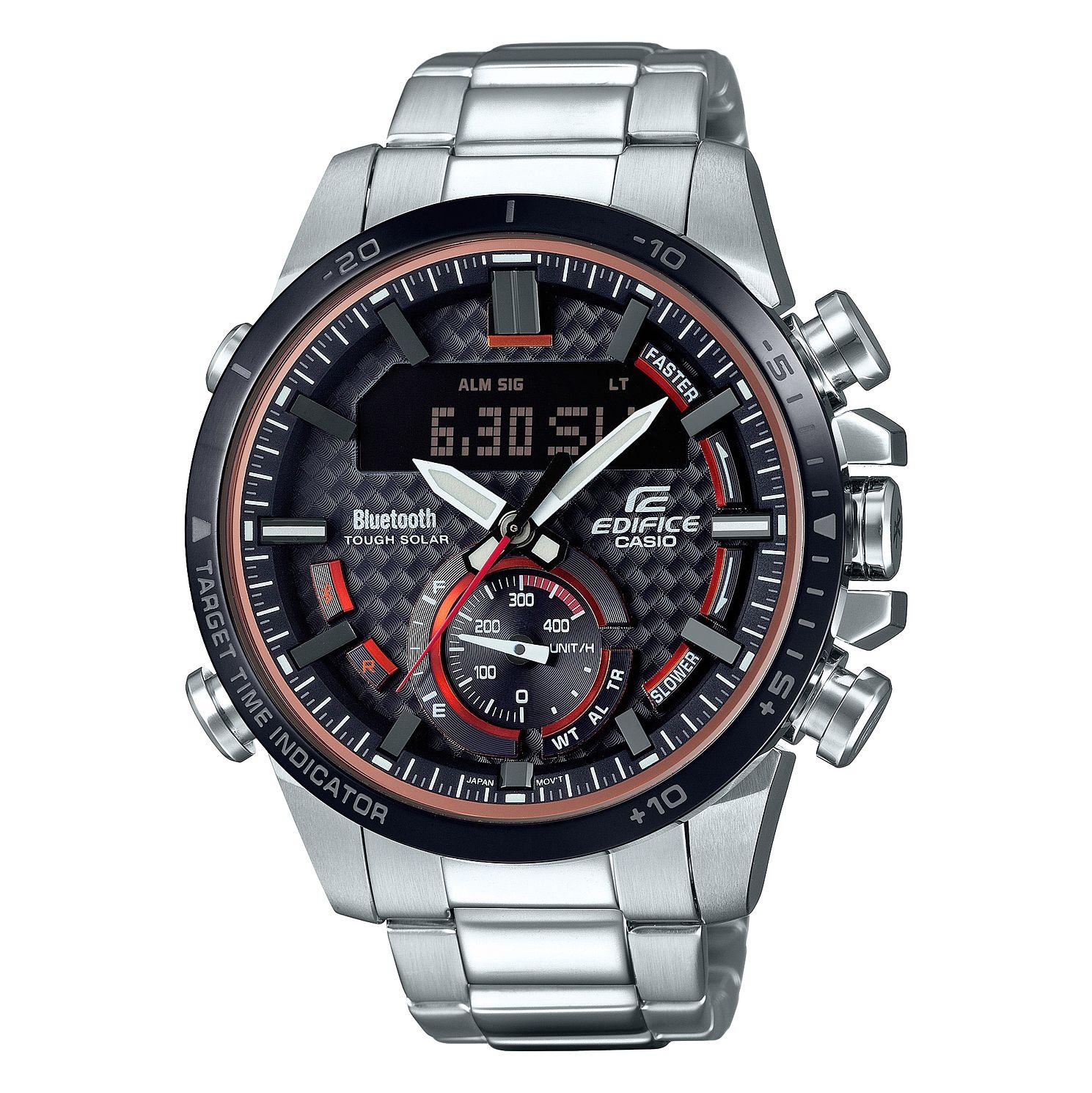 Casio Edifice Men's Bluetooth Solar Powered Bracelet Watch £155 @ Ernest Jones