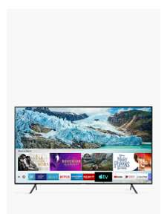 "Samsung UE50RU7100 (2019) HDR 4K Ultra HD Smart TV, 50"" with TVPlus & Apple TV App, Charcoal Black £349 @ John Lewis & Partners"