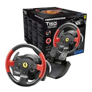 Thrustmaster T150 Ferrari Edition Force Feedback Racing Wheel for PS4/PS3/PC £99 @ Smyth's Toys