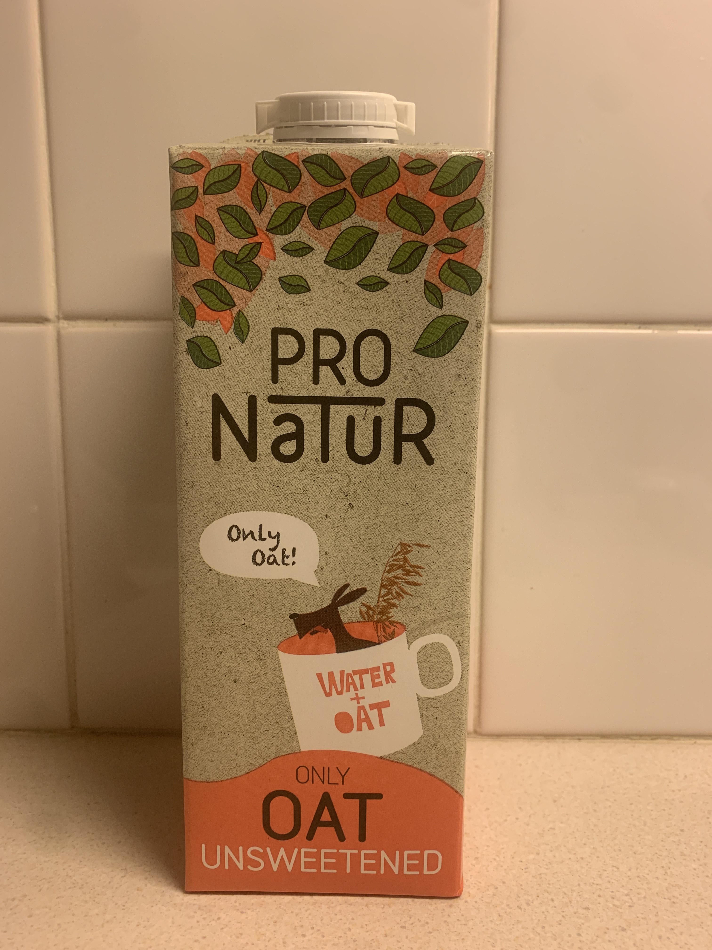 Pro Natur unsweetened Oat drink 89p @ Aldi