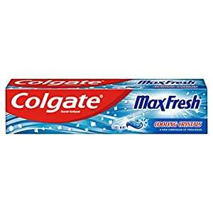 Colgate Max Fresh Cooling Crystals Toothpaste 125ml (Not the small 75ml) - £1.67 @ Amazon - Add On Item
