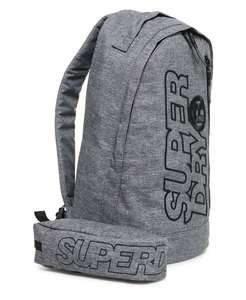 Superdry Zac Freshman Backpack & Pencil case Now £17.50 Free delivery @ Superdry