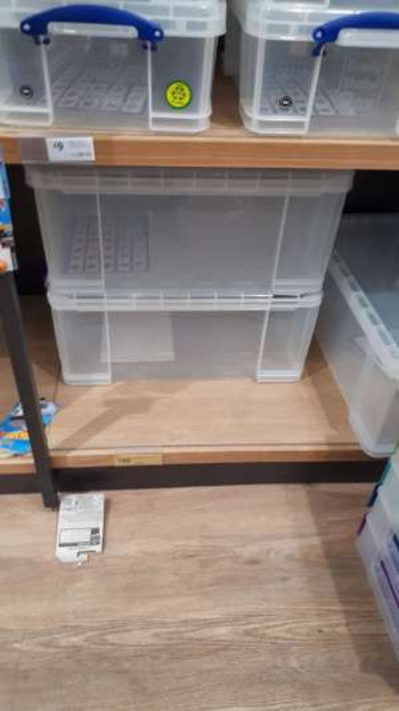 Really Useful 64l Storage Box £10 @ Morrison's Carlisle, possibly nationwide