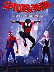 Spiderman into the spider-verse 4k UHD on prime video to buy - £6.99