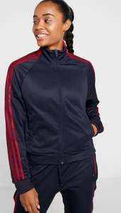 Women's Adidas ID 3 stripes snap track top now £23.98 with code sizes XXS up to 2XL @ Adidas (Free Click & Collect)