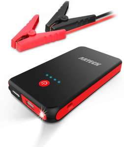 Arteck Car Jump Starter Auto Battery Booster and 8000mAh External Battery Charger - Sold and Shipped by ARTECK via Amazon - £36.99