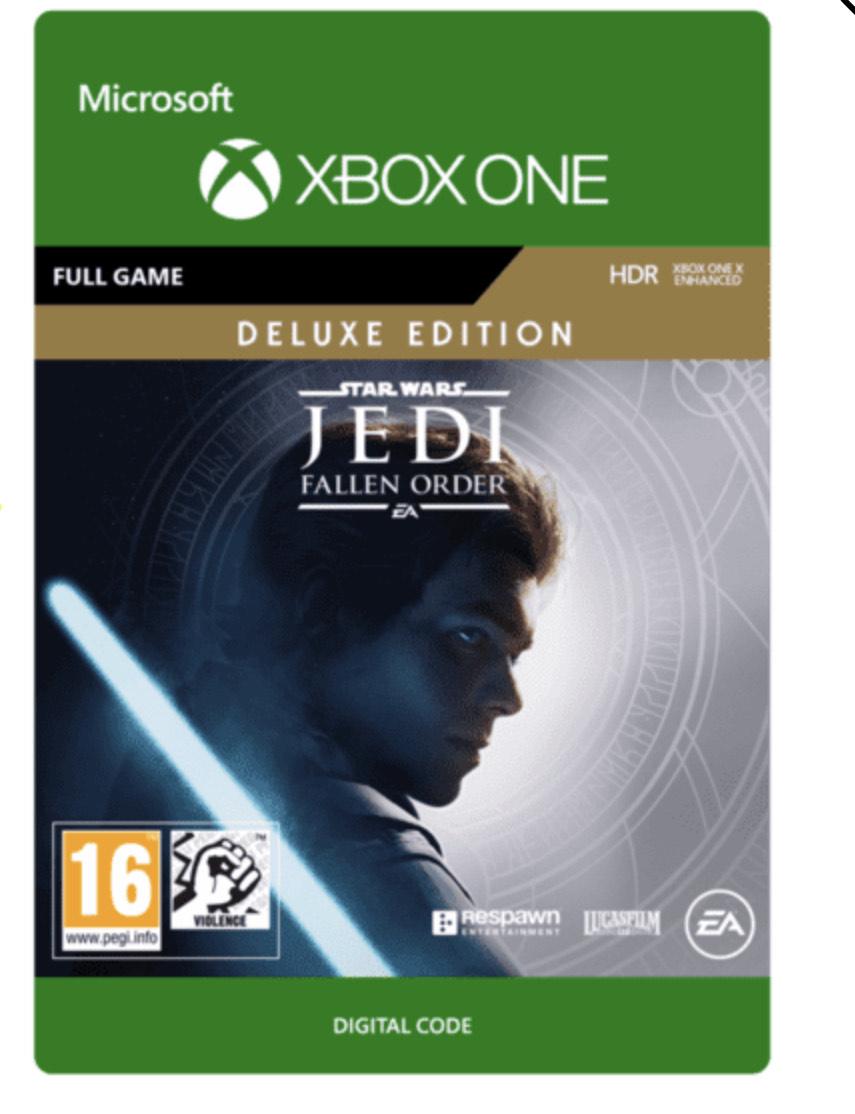 Star Wars Jedi The Fallen Order Deluxe Edition (Xbox Digital) £29.85 @ Shopto