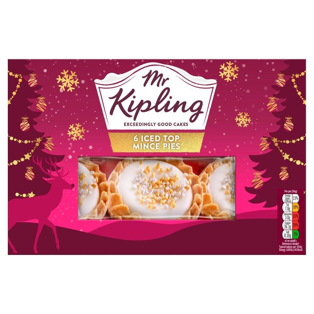 Mr Kipling Iced Mince Pies - 25p Instore @ Tesco Express (Northampton)