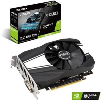 ASUS GEFORCE GTX 1660 Super Phoenix 6GB Graphics Card OC Edition - £199.99 @ Box