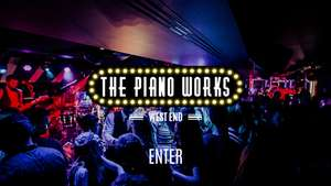 Free £10 voucher for Piano Works Bars