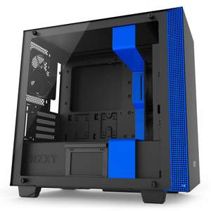 NZXT H400i Micro-Atx gaming case with HUE2 RGB fan controller at Overclockers for £104.99